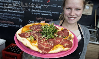 مطعم دانماركي يقدم لزبائنه بيتزا من لحم الخيل