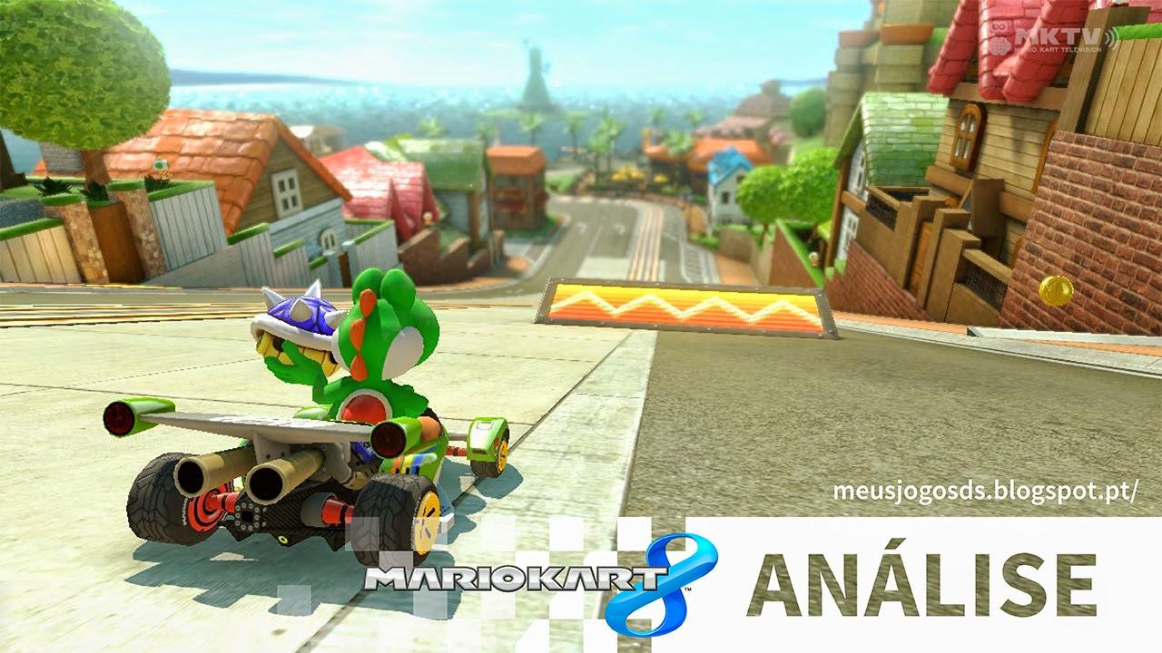 Análise Mario Kart 8