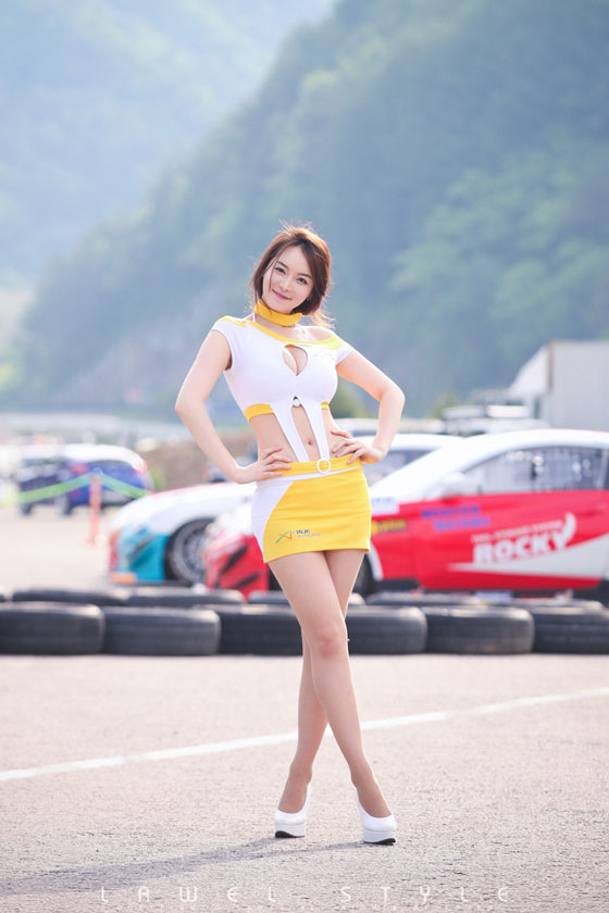 Im Ji Hye at CJ Super Race 2011