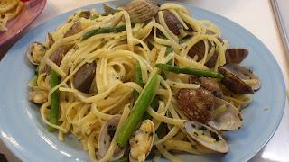 出張シェフ:初夏の野菜とアサリのボンゴレパスタ
