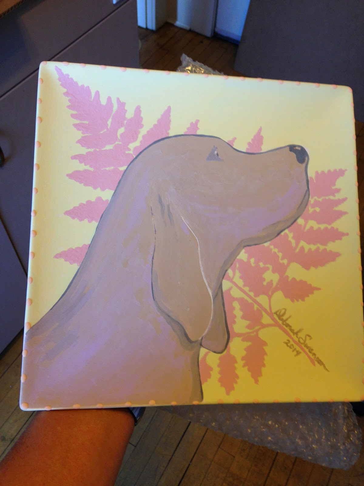 Paso Robles Library Book Plates Auction - Ceramic Plate Design - Studio 101 West Marketing and Design