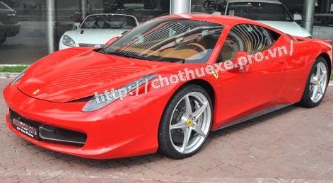 Cho thuê siêu xe Ferrari 360 Italia