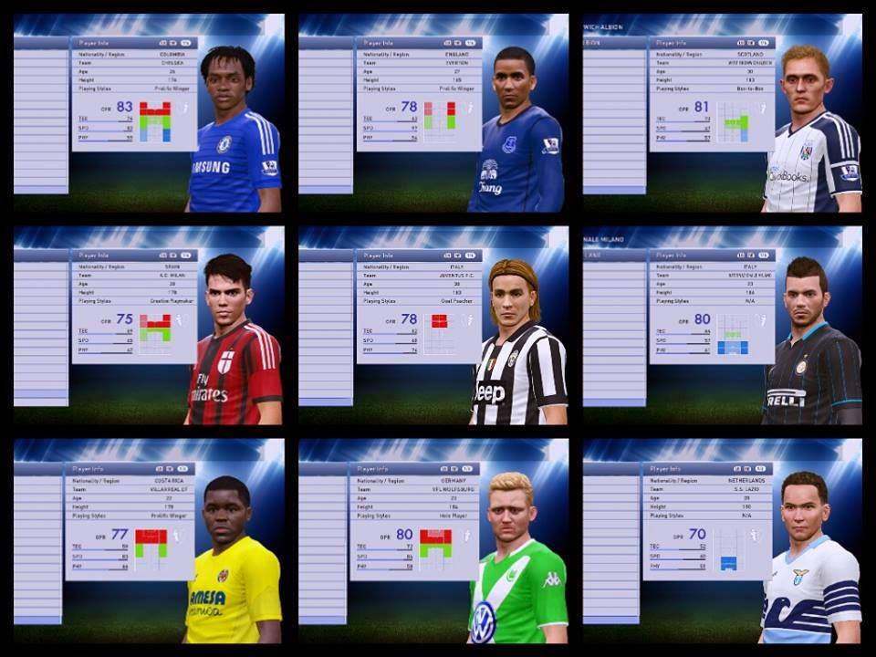 Option File PES 2015 untuk PTE 4.0.1 Update 9 Februari 2015