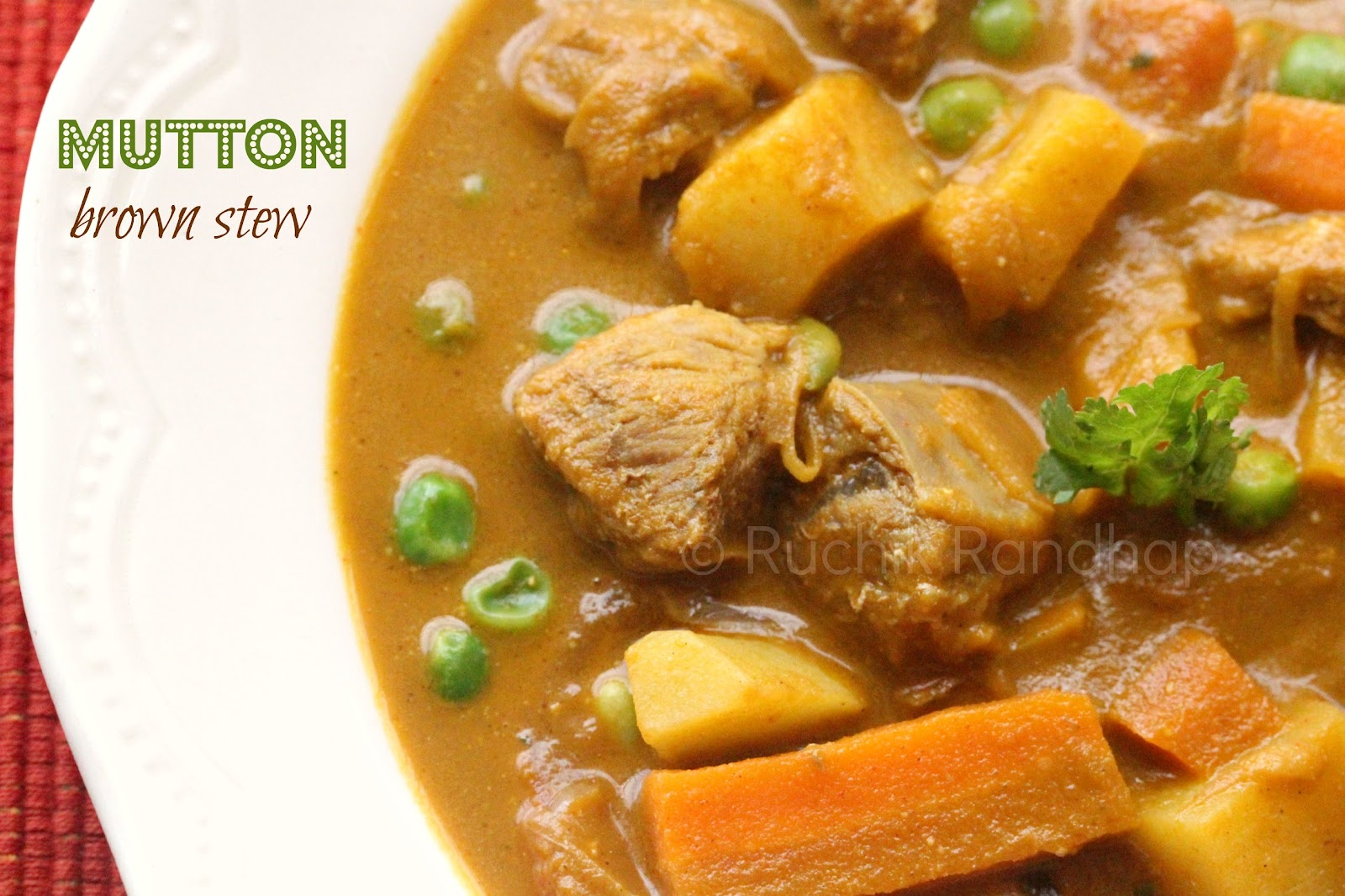 ... Delicious Cooking): Recipe Index - Meat Dishes (Mutton, Beef & Pork