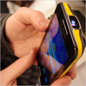 Samsung Galaxy Beam I8530, Nyaman Presentasi dengan Proyektor