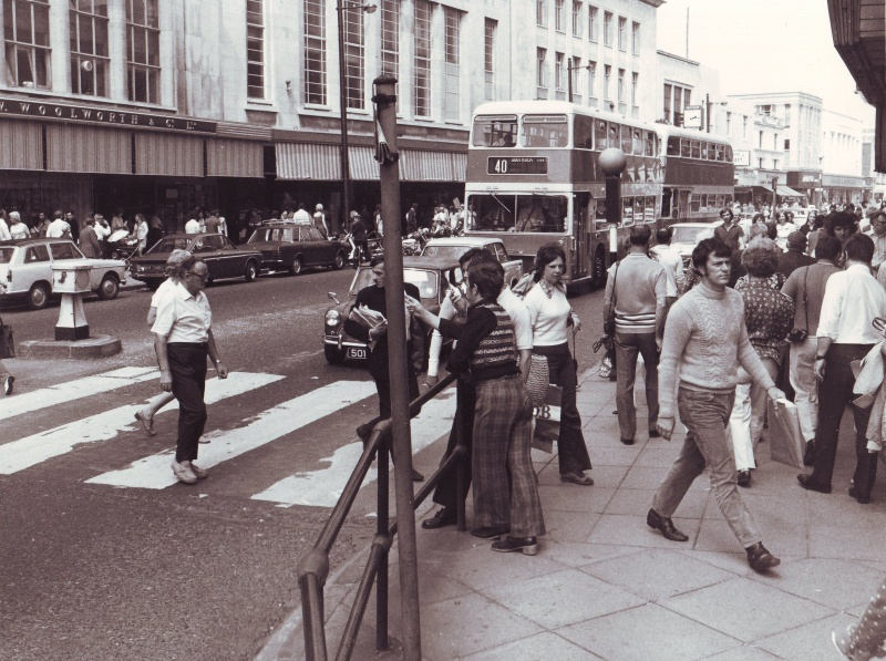 Commercial Road 1974