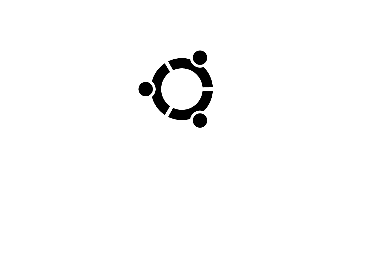 All About Logo: Ubuntu Logo Ubuntu Logo Black
