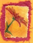 Watercolor Gerber Daisy