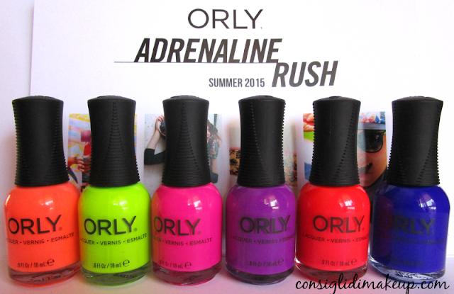 Collezione smalti estate 2015 Adrenaline Rush - Orly [tutti gli swatch]