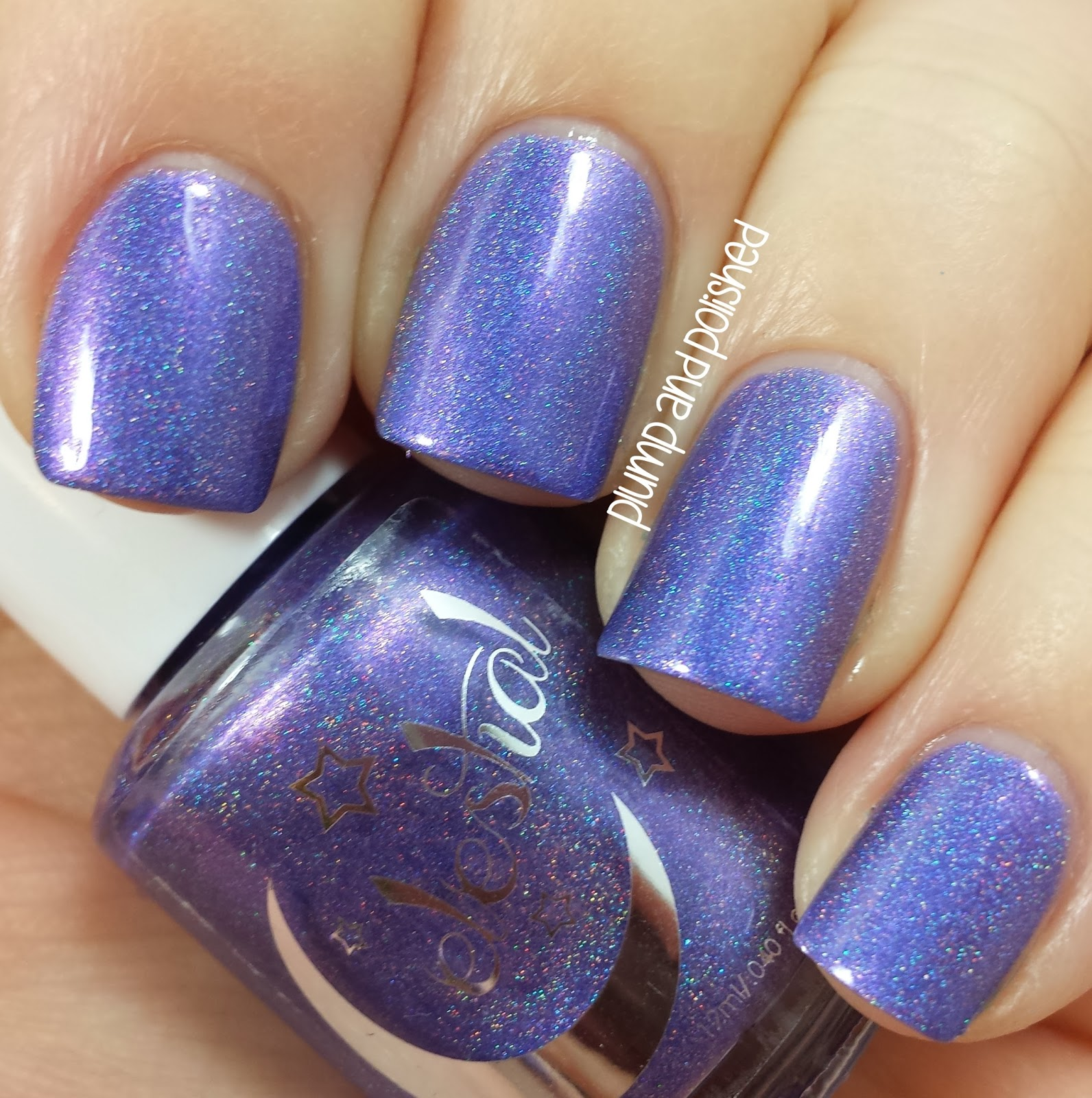 ... and Polished: Celestial Cosmetics - Santa's Blue Balls & Noel&#39...