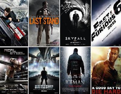 Daftar Film Action Terbaru 2013