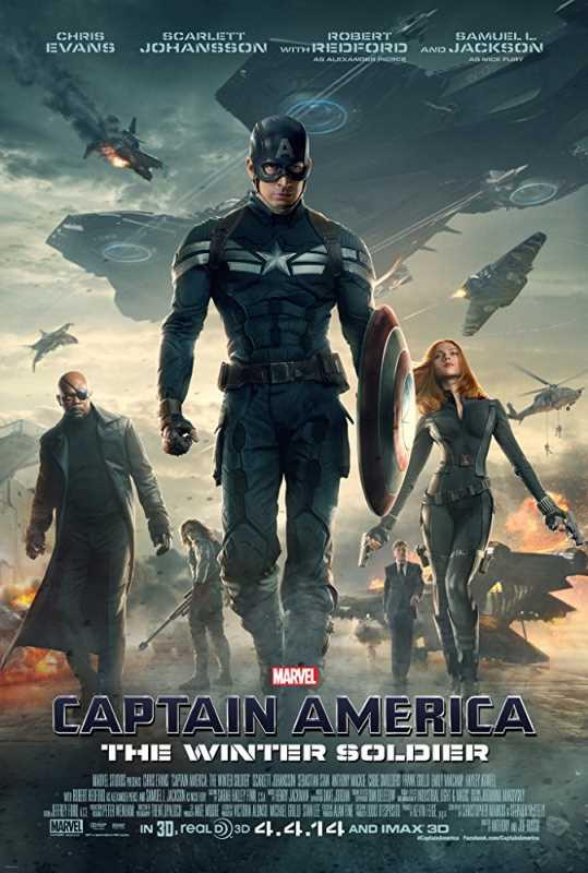 Captain America The Winter Soldier 2014 720p x264 Esub BluRay  Dual Audio English Hindi GOPISAHI