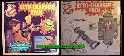 Kenner The REAL Ghostbusters Ecto-Charger Pack Slime Blower Roleplay Toy