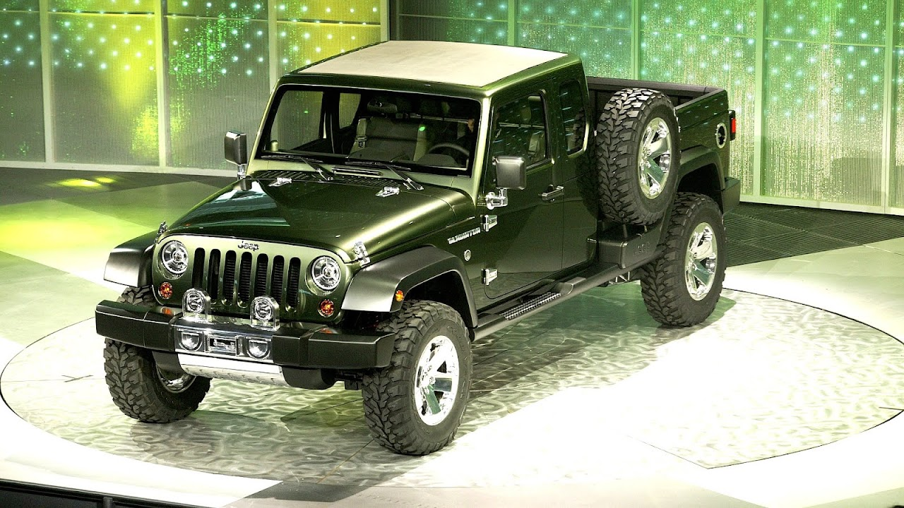 Gladiator Jeep Truck Choices Wrangler Pickup Concept
