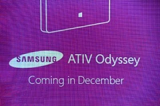 Samsung ATIV odyssey headed to Verizon in December this year