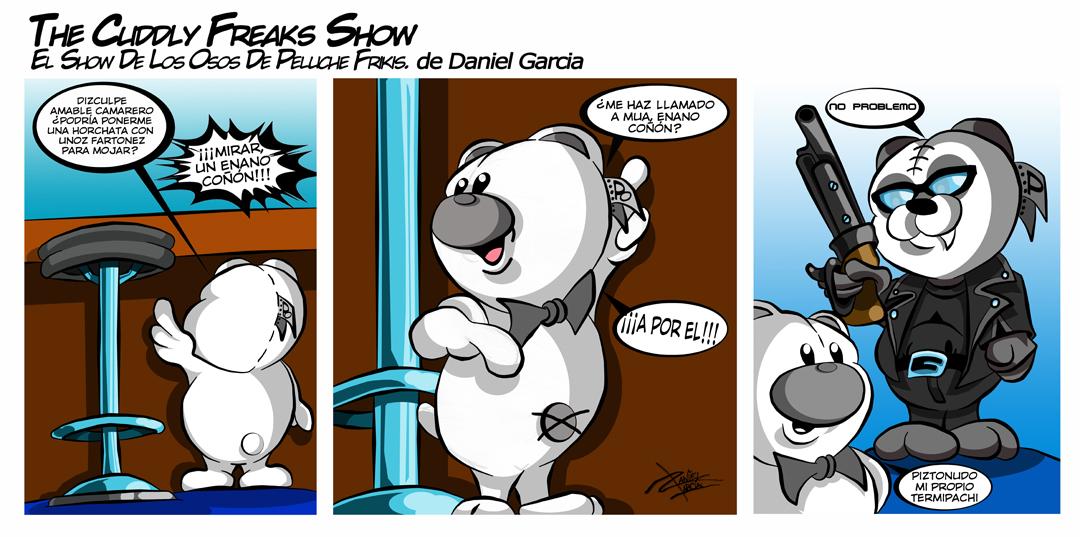 The Cuddly Freaks Show Tira 18: Sayonara Baby