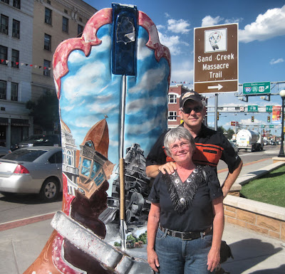 Vik and Tim - Cheyenne, WY before Kid Rock concert