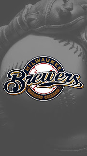 Milwaukee Brewers iphone 5 wallpaper