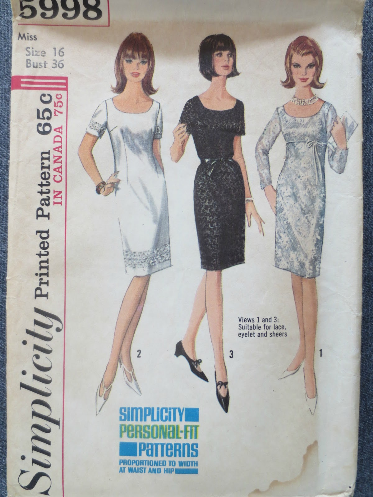 Simplicity 5998 via Brentwood Lane