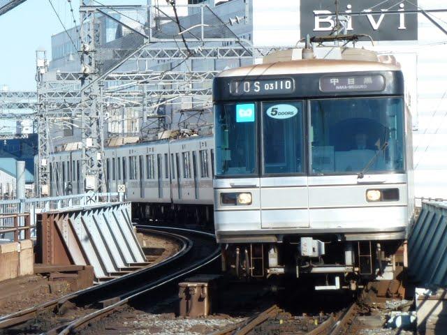 東京メトロ日比谷線 中目黒行き4 03系幕式5扉