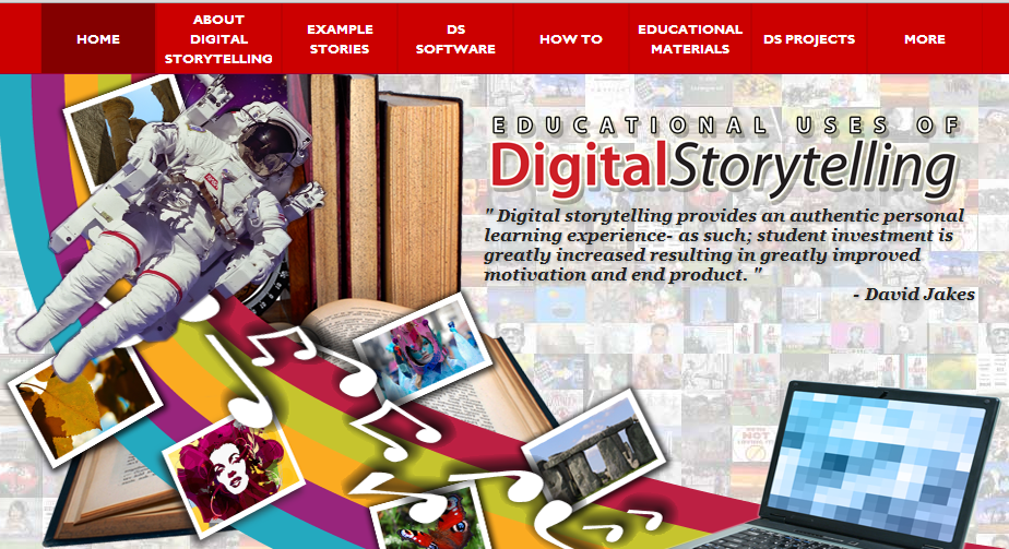 Educational uses of the Digital Storytelling