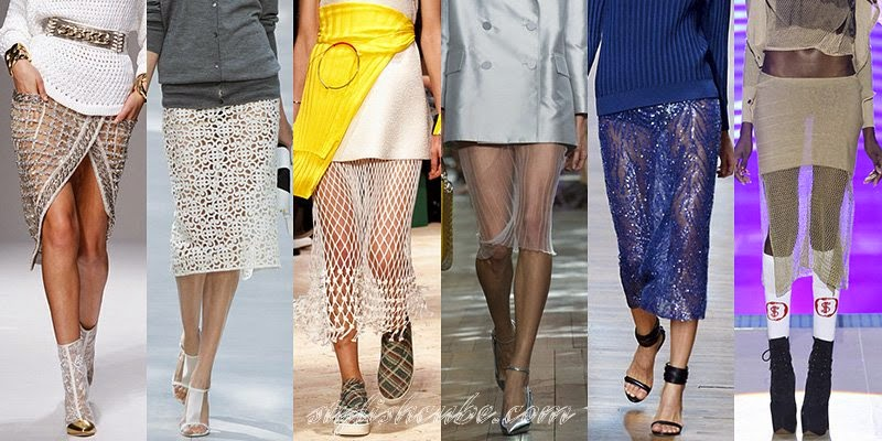 Spring Summer 2014 Women's Skirts Fashion Trends