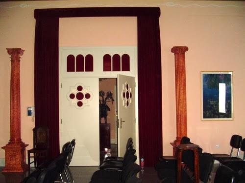 Aspeto parcial do salão nobre da ASMAV