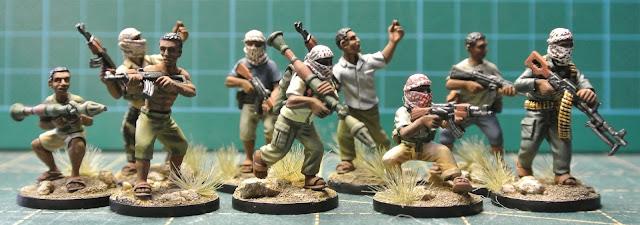 Guerre Africaine, mon projet moderne Eureka+28mm+Somali+Militia+01