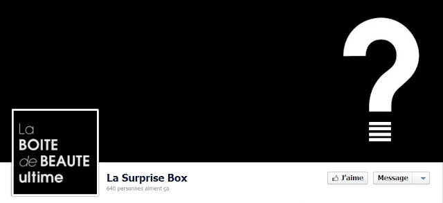 Une nouvelle box beauté: découvrez en exclusivité la SURPRISE BOX bon plan cosmétique la surprise box facebook surprise box video