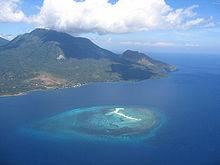 White Island in Camiguin, Philippine