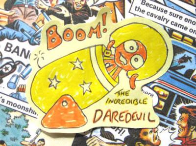 It's the incredible Daredevil Mascot!