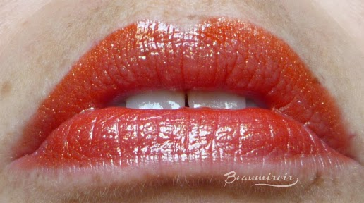 Revlon Ultra HD Lip Lacquer gloss in Petalite: lip swatch