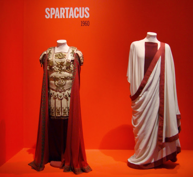 Stanley Kubrick: The Exhibition at TIFF Bell Lightbox in Toronto, culture, film, movies, director, filmaker, art, artmatters,ontario, canada, the purple scarf, melanieps, props, costumes, spartacus