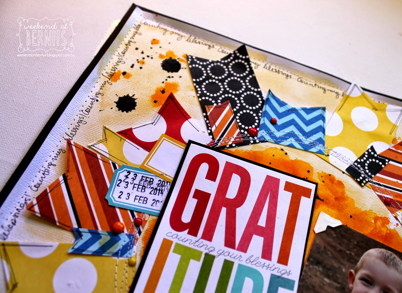 Gratitude layout using MAMBI by Bernii Miller