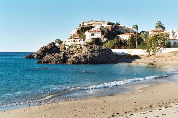 Mazarron Spain  city pictures gallery : la salida de Mazarrón, una gran fortaleza con vista al mar ...