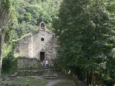 Sant Aniol d'Aguja chapel in La Garrotxa