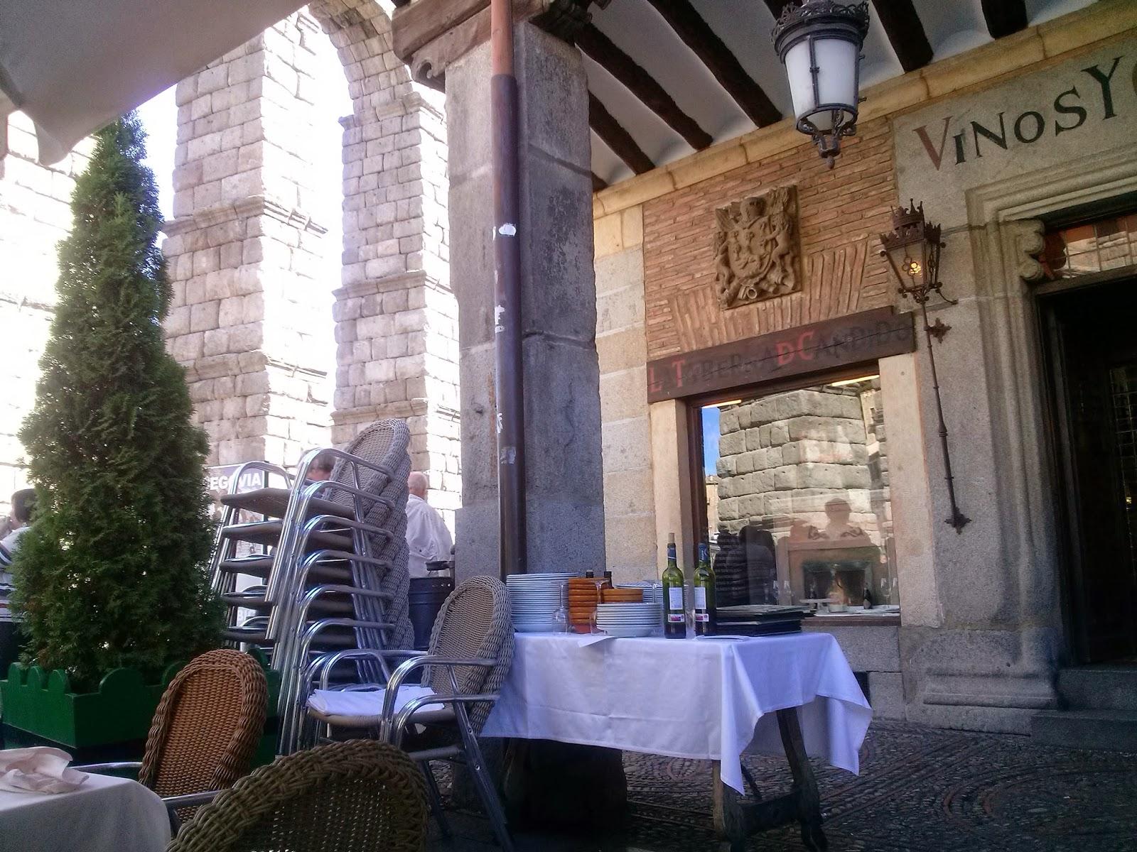 Meson de candido restaurante en Segovia