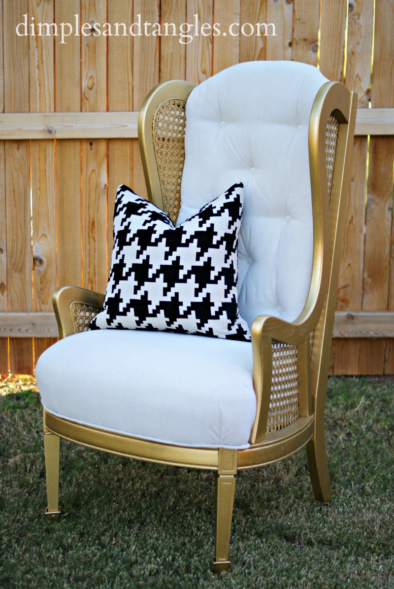 DINING ROOM HOST CHAIRS: TA-DA! - Dimples and Tangles