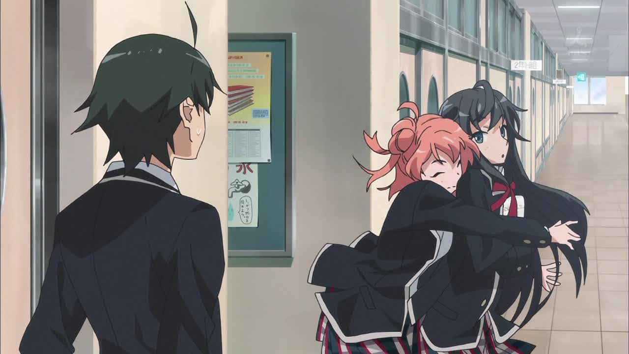 anime, fan fiction and books. oh my!: my teen romantic comedy snafu