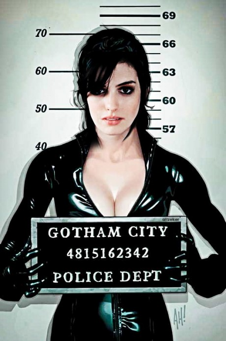 Anne Hathaway as Catwoman Hot