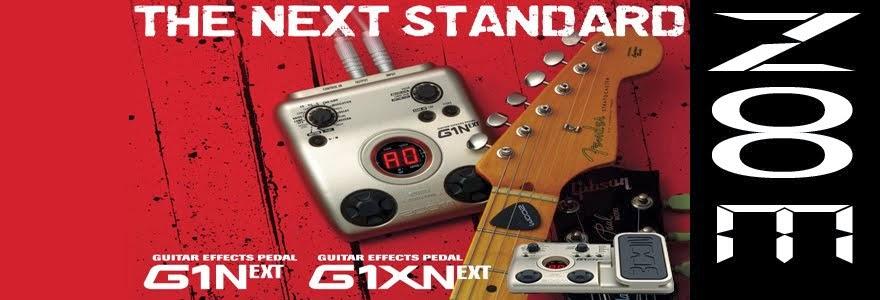 Zoom G1XN guitar pedals