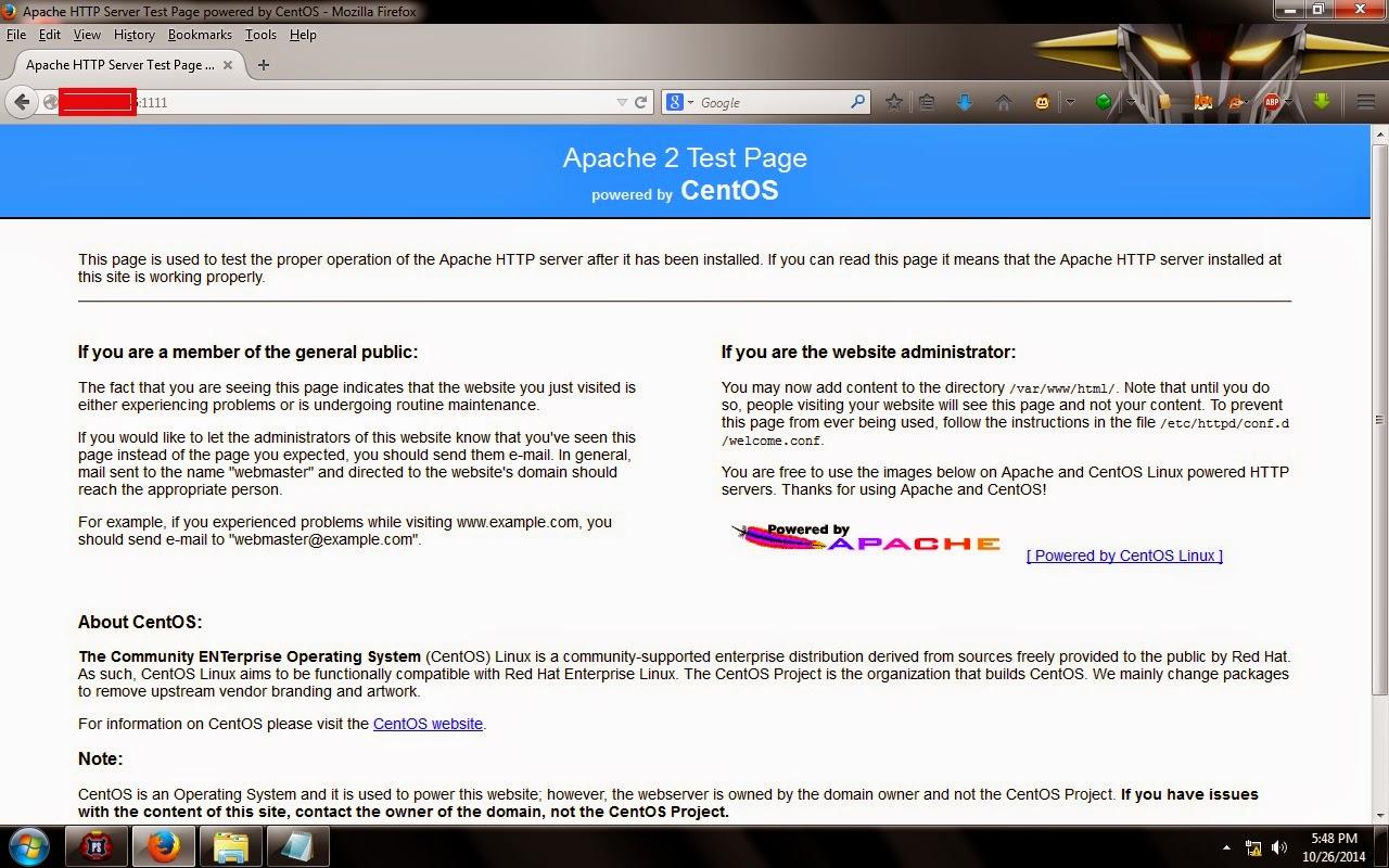 Cara Merubah Port Apache HTTP Server Pada Centos dan Debian