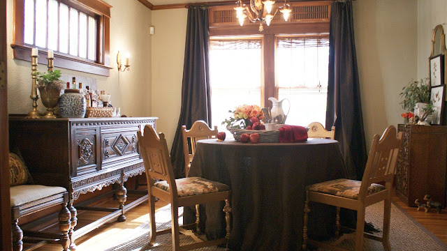 dining room design chocolate brown