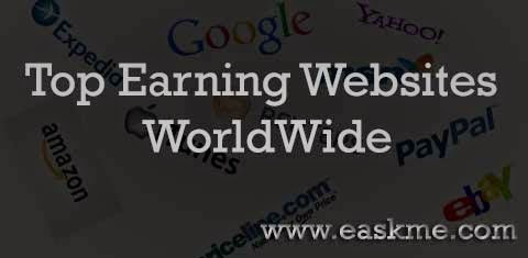 Top Earning Websites in the World : eAskme