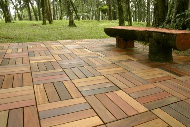 Maderas y estibas cartagena abarco y teka for Mosaicos para pisos exteriores
