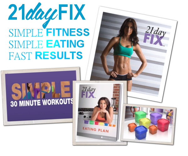 simplicity, make being healthy simple, 21 day fix, 21 day 3 day fix, color coded portion control containers, 30 minute workouts