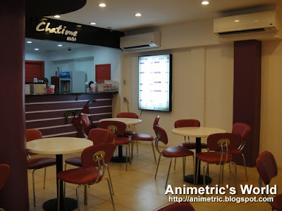 Inside Chatime on Wilson St.