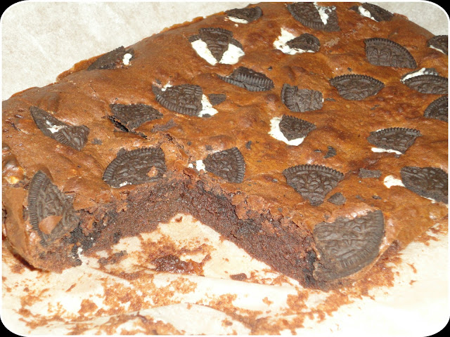Brownie de oreos