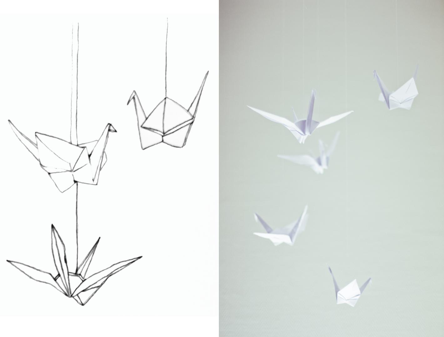 mobile oiseau papier great comme un oiseau sur la branche with mobile oiseau papier mobile. Black Bedroom Furniture Sets. Home Design Ideas