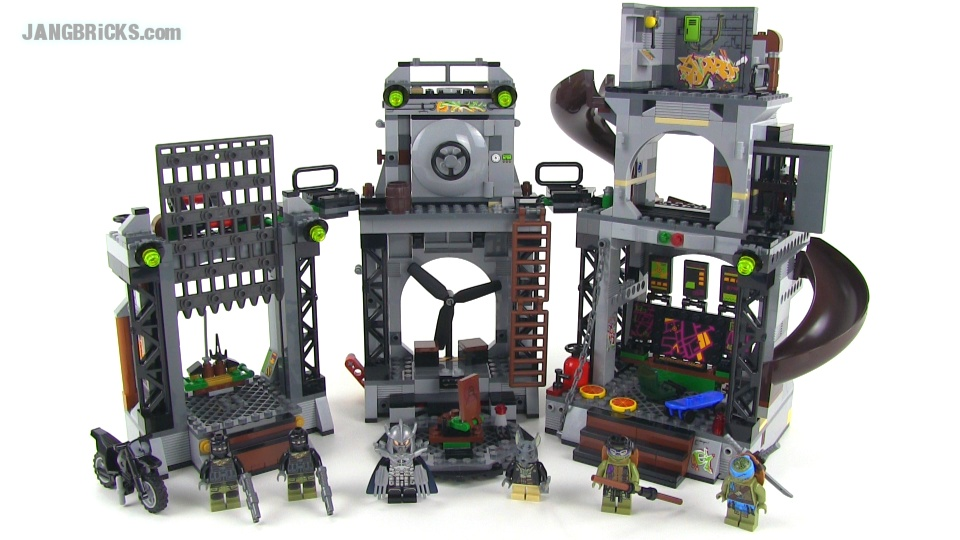 LEGO Ninja Turtles 79117 Turtle Lair Invasion Set Review